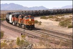 BNSF 4574 EB at the cut (greenthumb_38) Tags: california railroad train route66 mojave locomotive bnsf mojavedesert motherroad sanbernardinocounty railroading desertlife nationaltrails rte66 themotherroad nationaltrailshighway needlessub jeffreybass natltrailshwy ludlowadventure2012