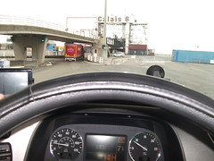 View From The Wheel - Boarding the Ferry.