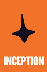 Inception Minimalist Poster (Jesse McDonald Design and Photography) Tags: blue orange poster ellen nolan christopher totem page type leonardo minimalist dicaprio inception