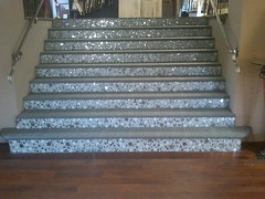 ArtWalk Tile Showroom Stairs (ArtWalk Tile) Tags: tiledesign creativetile mosaictiledstairs artwalktileshowroom