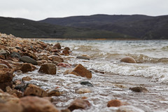 The shore at Jordanelle Beach (annemconnor@yahoo.com) Tags: winter mountain snow beach nature water landscape utah spring sand rocks waves natural pebbles reservoir driftwood shore parkcity jordanelle beautyinnature