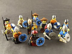 Víkinger (Shadow Viking) Tags: lego pirates medieval scandinavian raiders darkages seafarers vikingage víkingr figbarf víkinger