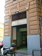 """SALA ITALIA"" dal 1940 biliards (costagar51) Tags: italy italia sicily palermo sicilia storia anticando regionalgeographicsicilia rgsstreetphotography"