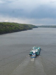 Ship (historygradguy (jobhunting)) Tags: ny newyork water river boat upstate poughkeepsie tugboat hudsonriver barge dutchesscounty hudsonvalley