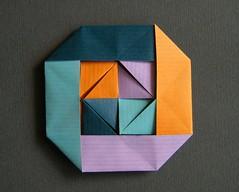 Deux oiseaux sur un manège - Lulu Sur Flickr (Rui.Roda) Tags: origami flickr lulu un modular deux sur manège papiroflexia oiseaux