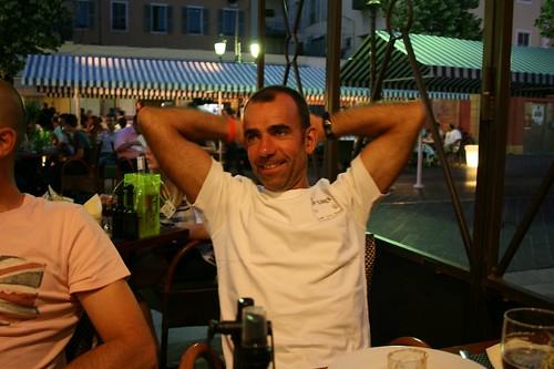 Je suis relax...C'est seulement un Ironman!!!