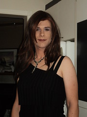 Heading out to the cabaret (DawnLB) Tags: montreal pride trans crossdresser transsexual