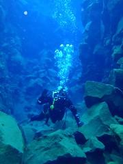 Diving Silfra 17