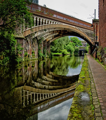 Rochdale canal Manchester (lovestruck.) Tags: city uk bridge summer england reflection water docks manchester canal arch bricks north mooring 2012 castlefields rochdalecanal bigmomma challengeyouwinner fotocompetition fotocompetitionbronze fotocompetitionsilver
