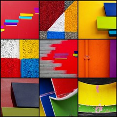 London abstracts (Sallyrango) Tags: abstract london geometric fdsflickrtoys graphic bright geometry mosaic