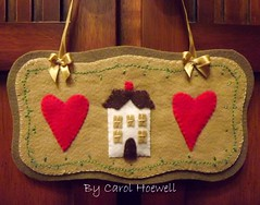 Home Sweet Home (CANELA COOL by CAROL) Tags: felt feltro