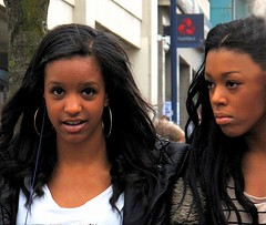 Sheffield (Don Jackson) Tags: life portrait people black sexy beautiful female hair women expression profile young photojournalism documentary lips moment global georgeous hotfriends