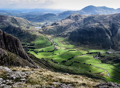 On the Langdale Pikes (Terry Yarrow) Tags: uk england mountains canon walking landscape lakedistrict g2 langdalevalley langdalepikes greatlangdale