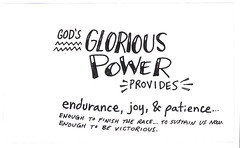glorious-power (Paul Goode) Tags: lotsofnotes biblenote