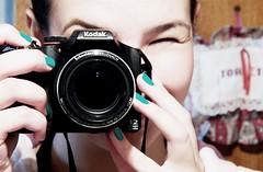 mirror (Jac Olv) Tags: camera color girl kodak nail kodakz990 jacolv