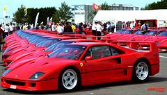 Ferrari F40! (Fast Car Zone) Tags: classic race track ferrari parade exotic silverstone rare supercar f40 flickrandroidapp:filter=none