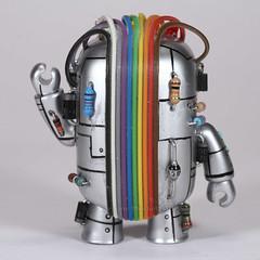 Borgy - Rear (cazphoto.co.uk) Tags: domo cyborg custom domokun borgy canoneos7d canon60mmefsf28usm yn560speedlite