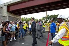 "Ramp Opening - 11th Street Bridge • <a style=""font-size:0.8em;"" href=""http://www.flickr.com/photos/51922381@N08/7678991814/"" target=""_blank"">View on Flickr</a>"