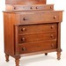 99. 19th century American Chest of Drawers