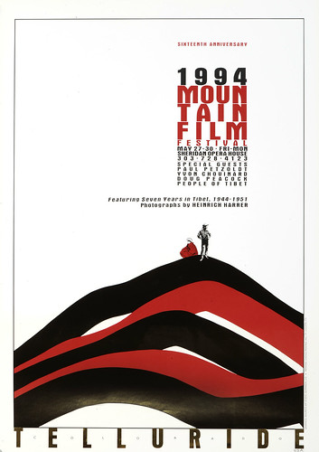 1994 Mountainfilm in Telluride Festival Poster