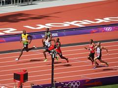 100m: Usain  Bolt