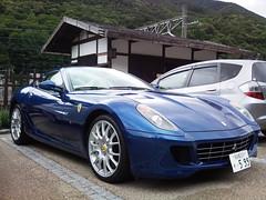 Ferrari 599 in Narai-juku (Araiguma Rascal) Tags: blue ferrari  599  naraijuku  worldcars