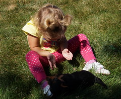 Ava and puppy 17