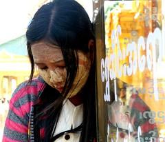Myanmar - Febbraio 2012 (anton.it) Tags: girl face hair myanmar viaggio vacanza ragazza capelli pagode volto giovane canong10 antonit mygearandme mygearandmepremium flickrstruereflection1