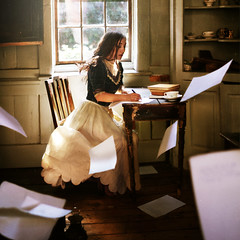 The Tale of Six Hundred Years (rosiekernohan) Tags: motion london fairytale writing paper desk story workshop timeless oliviaclemens brookeshaden rosiekernohan thetaleofsixhundredyears