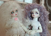 Aria & Lelia (Sozalina) Tags: face up md doll tiny bjd soom alk limited gem teenie lelia yosd yrie dannyvanilla