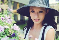 (NEW|photography) Tags: flowers summer hot hat ma model farm massachusetts newengland greenhouse heat mass suspenders bridgewater