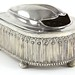2063. Unusual Elkington & Co. Silver Plate Spoon Warmer