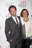 "Walton Goggins, Nadia Conners arrives at the ""Lincoln"" Premiere at the AFI Fest at Graumans Chinese Theater in Los Angeles Calfornia, USA"