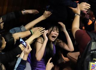 马英九要求占领立法院抗议学生撤离