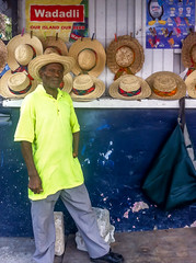 This is John (Marcy Leigh) Tags: vacation portrait hats antigua gardner stjohnantigua