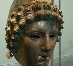 The Crosby Garrett Helmet, 3rd Century AD (jacquemart) Tags: london roman classical britishmuseum 3rdcenturyad thecrosbygarretthelmet