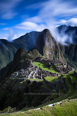 Machu Picchu (baddoguy) Tags: longexposure peru southamerica vertical sunny images getty machupicchu