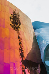 The Colorful EMP Museum is a Signature Piece of the Seattle Center (Lee Rentz) Tags: seattle park urban music usa color colour reflection colors rock museum architecture modern america reflections reflecting design washington aluminum colorful unitedstates northwest guitar creative surface architectural reflected architect fantasy rockmusic microsoft pacificnorthwest northamerica experiencemusicproject smashed popculture washingtonstate ideas emp frankgehry 1962 paulallen jimihendrix seattlecenter sciencefictionmuseum rockandroll worldsfair frankogehry sheetmetal risky popularculture edgy relfective risktaking empmuseum sciencefictionmuseumandhalloffame 1962seattleworldsfair
