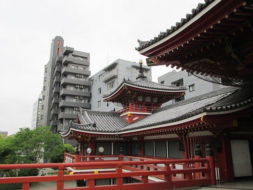 Temple, Nagoya, Japon