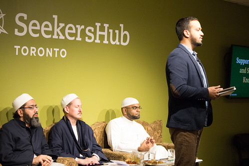 "Shaykh Yahya Rhodus at SeekersHub, Toronto and Seminar Series: Worship, Coffee and The Meaning of Life • <a style=""font-size:0.8em;"" href=""http://www.flickr.com/photos/88425658@N03/26235099143/"" target=""_blank"">View on Flickr</a>"