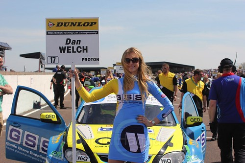 Dan Welch during the BTCC Weekend at Thruxton, May 2016