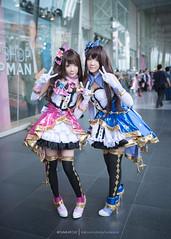 Uzuki & Rin (Tumeatcat) Tags: portrait anime thailand nikon cosplay rin d800 idolmster uzuki idolmaster