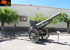 RARE Japanese Type 96 15cm gun in Portugal ! (Enon) Tags: world portugal japan war 15 cm empire type second timor elvas 1937 96 howitzer