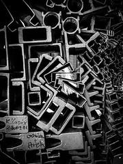 modern art (SchillingD) Tags: life street people urban white streetart abstract black art modern germany deutschland lumix lights blackwhite streetphotography menschen urbanart 20mm kontrast dortmund bnw abstrakt personen streetshot einfarbig streetphotografie streetfotography streetfotografie gf7