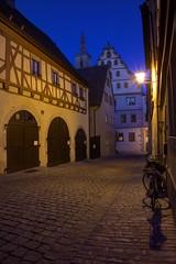 Rothenburg ob der Tauber, blaue Stunde 1/2