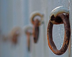 Details from the old stable (annechr) Tags: rust rings simplicity minimalism stable lesund stallane
