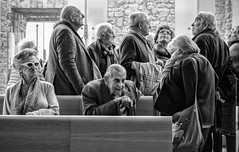 at the church (FedeSK8) Tags: life people blackandwhite italy church campania faces felt persone federico scotto pozzuoli fedesk8