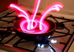 Sauce pan splatter (Emily_Cato) Tags: kitchen photography paintingwithlight splatter saucepan paintwithlight lightphotography paintingwithlightphotography paintwithlightphotography