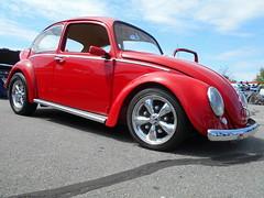 1966 Volkswagen Beetle (splattergraphics) Tags: vw volkswagen beetle 1966 carshow volksrod charlottehallmd southernknightsrodcustomcarclub