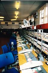 British Telecom operators 1990 (sunbeam31) Tags: office post cords operators british 100 lamps emergency bt plugs gpo telecom 999 telephonists